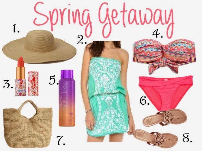 Spring Getaway Essentials and a winner!