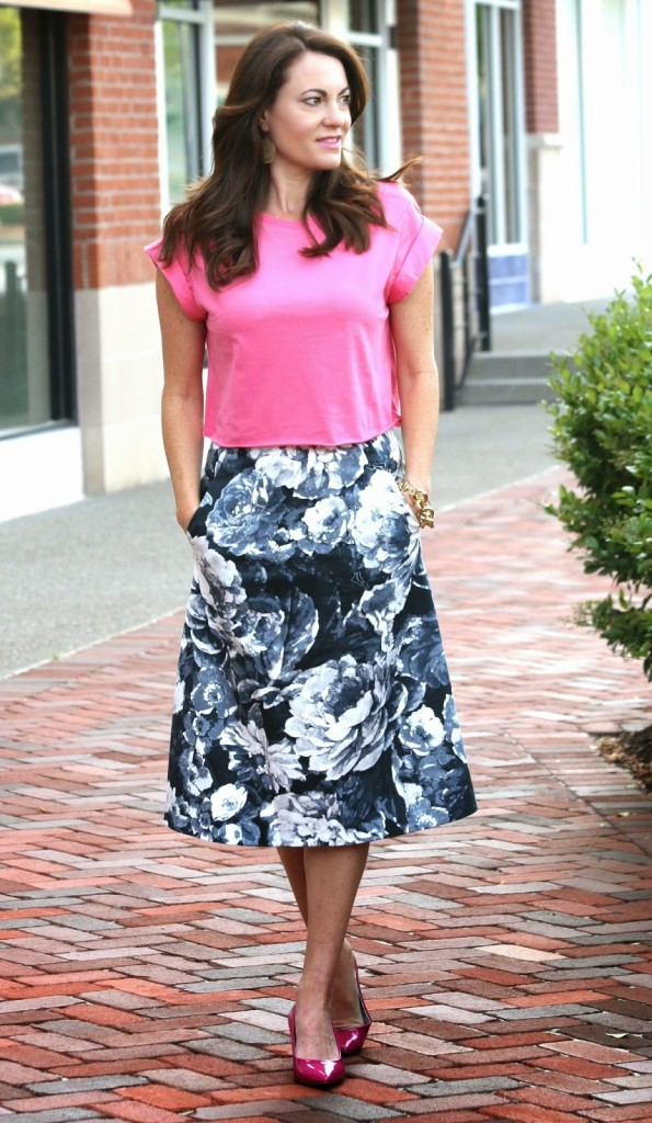 A Midi Skirt Moment