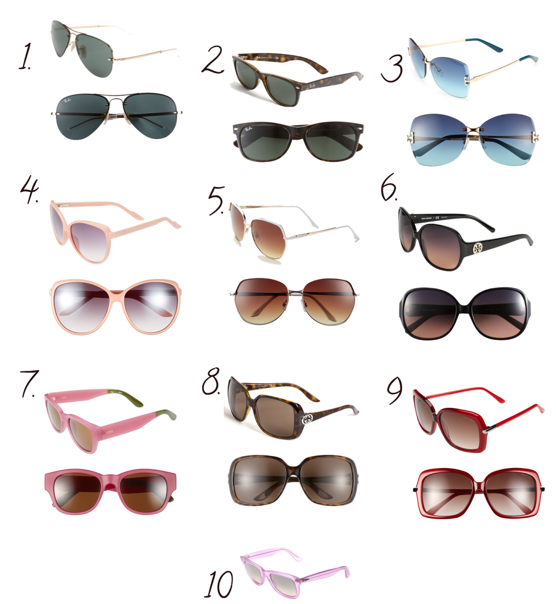 Summer Sunglasses Must Haves