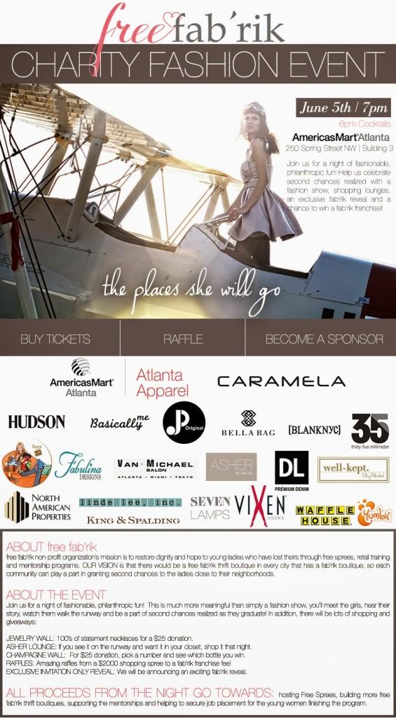 Free fab'rik Charity Fashion Event