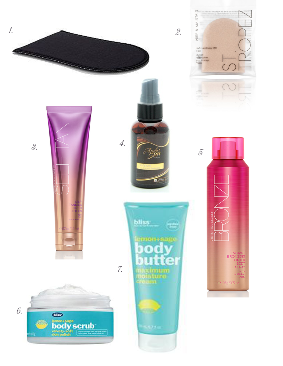 Monday Must Haves: Sunless Tanner