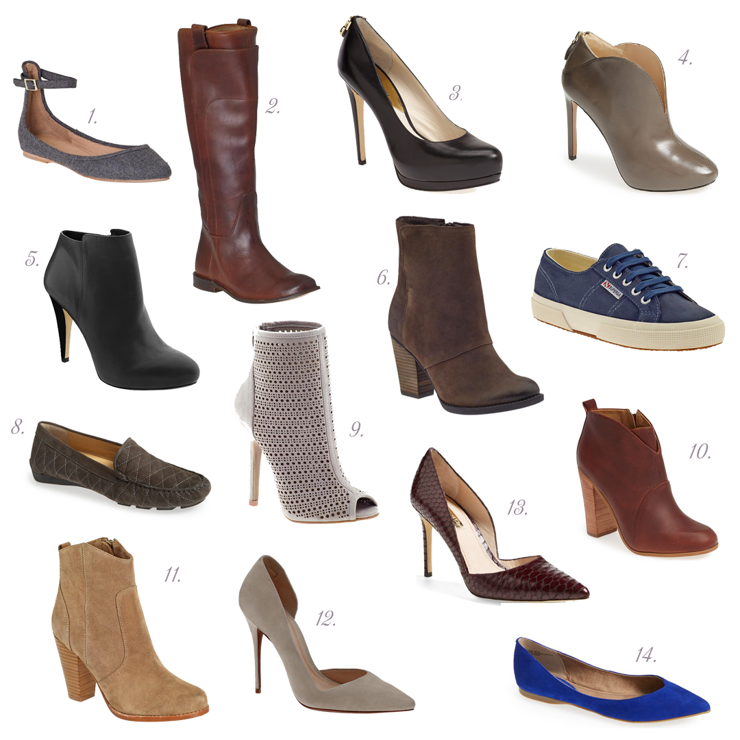 Monday Must Haves: Fall Shoe Guide