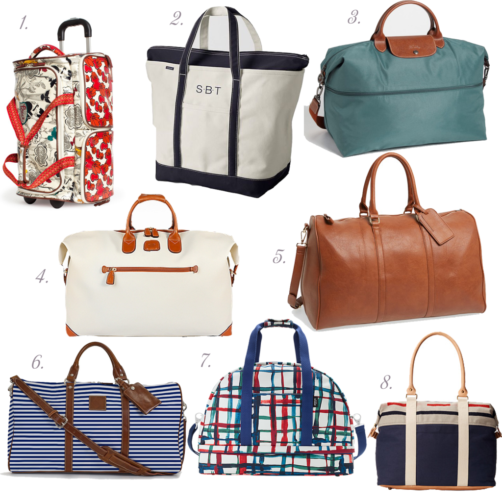 Must Have Mondays: Finding a Great Weekend Bag - Peaches In A Pod
