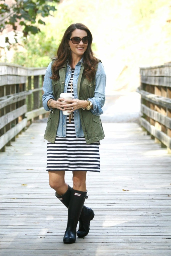 J. Crew Factory Striped dress, striped dress