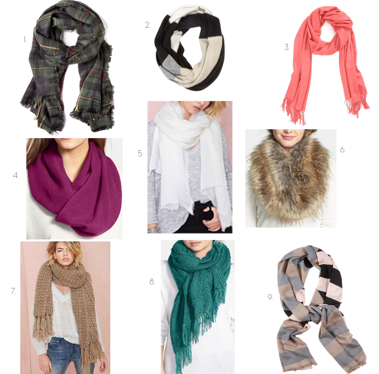 Monday Must Haves: Our Favorite Scarves