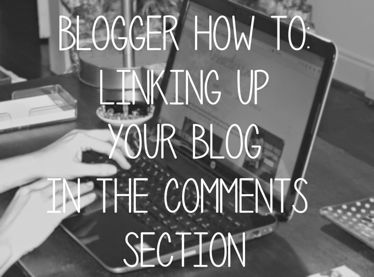 How To:  Linking Your Blog in the Comments Section