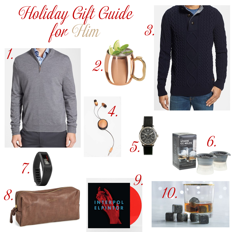 Monday Must Haves: Holiday Gift Guide for Him