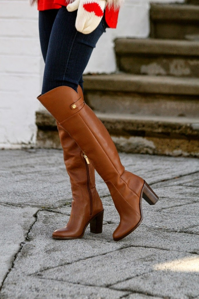Over the knee boots, Louis et Cie boots