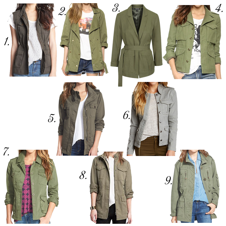 Monday Must Haves: The Perfect Military Jacket