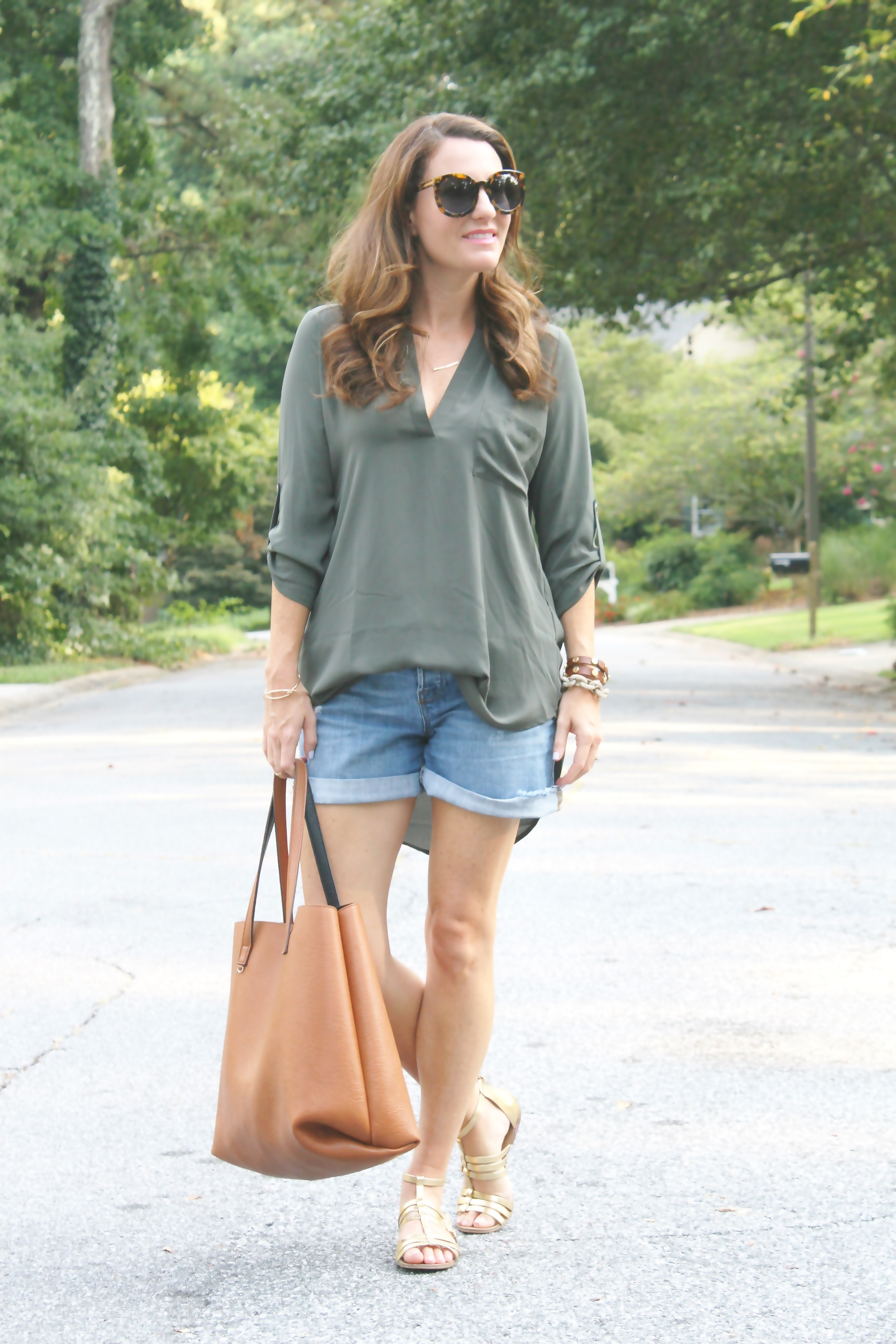 9506c236824 My go to summer top. Long sleeve tunic top by lush.
