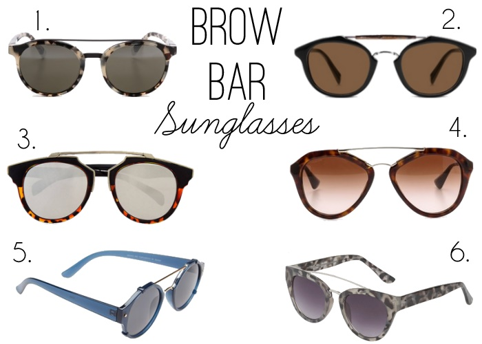 657e2c10292d Trend Alert: Brow Bar Sunglasses - Peaches In A Pod