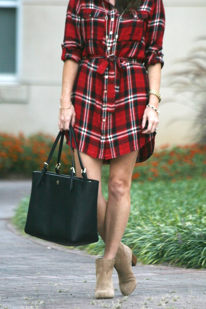 asos-plaid-shirtdress
