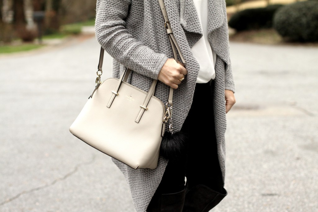 Kate-Spade-new-york-grey-bag