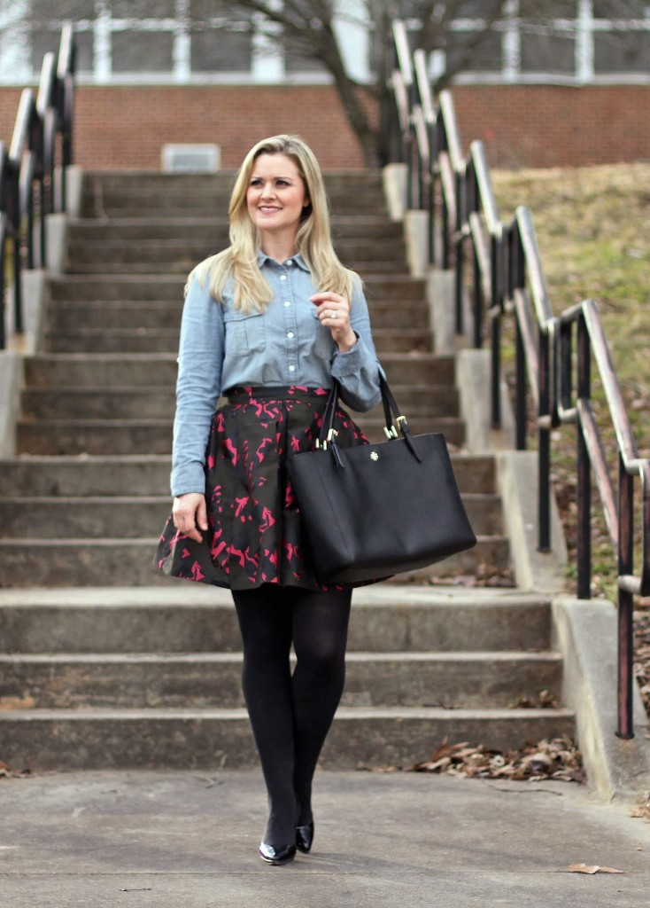 A Fit and Flare Skirt