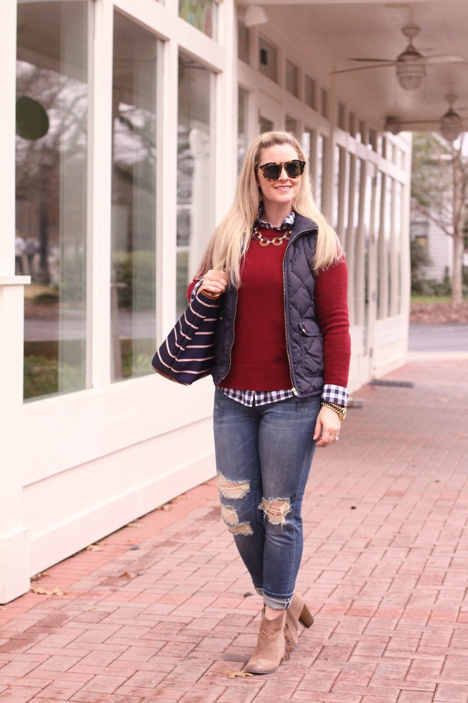 how to style distroyed denim