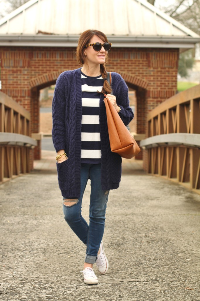 919bb32130c9 Casual spring outfit idea via Peaches In A Pod blog.
