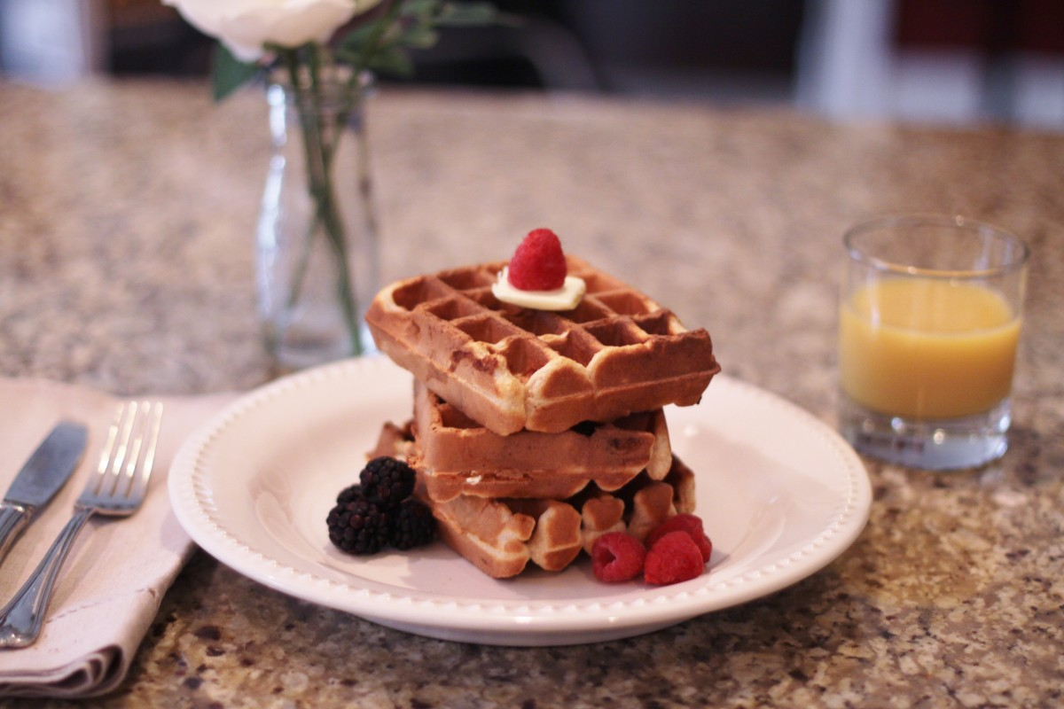 The Best Homemade Waffles Recipe