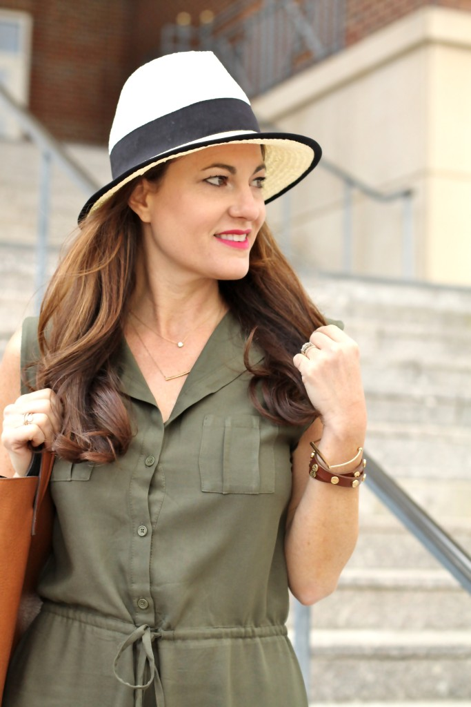 Panama hat via Peaches In A Pod blog.