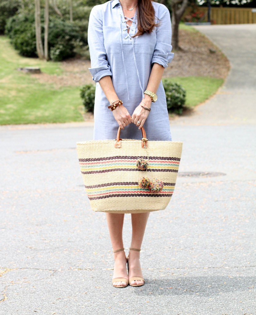 Mar Y Sol Caracas tote. The perfect beach tote for summer on Peaches In A Pod blog.