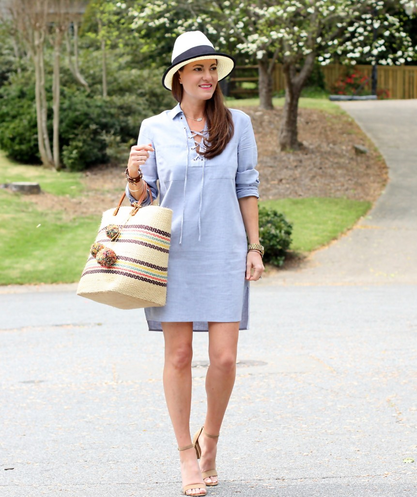 Women's spring fashion Inspiration via Peaches In A Pod blog.