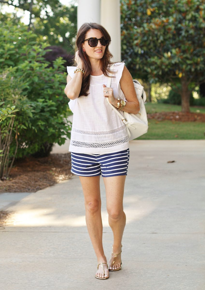 Casual summer fashion on Peaches In A Pod blog.
