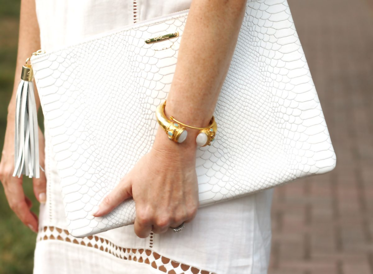 Julie Vos Grecian Key Cuff, my new favorite piece of jewelry.