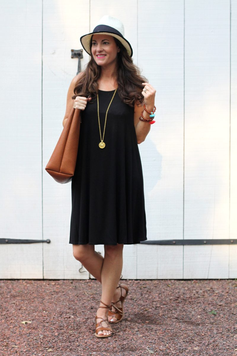 Black dress in summer - Little Black Dress For Summer Via Peaches In A Pod Blog