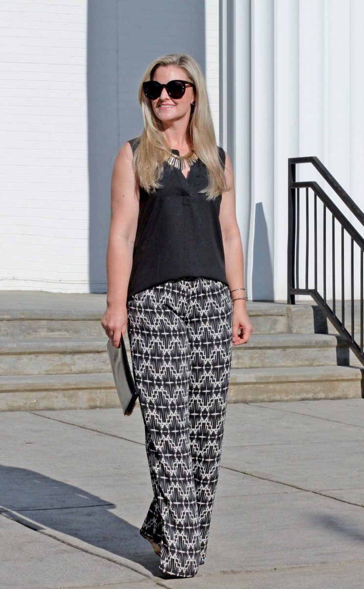 how to wear wide leg pants if you are short