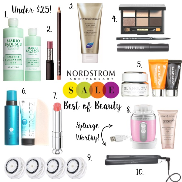 Nordstrom Anniversary Sale Beauty Exclusive Must Haves via Peaches In A Pod blog.