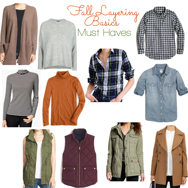 Ten Take On Fall: Must Haves