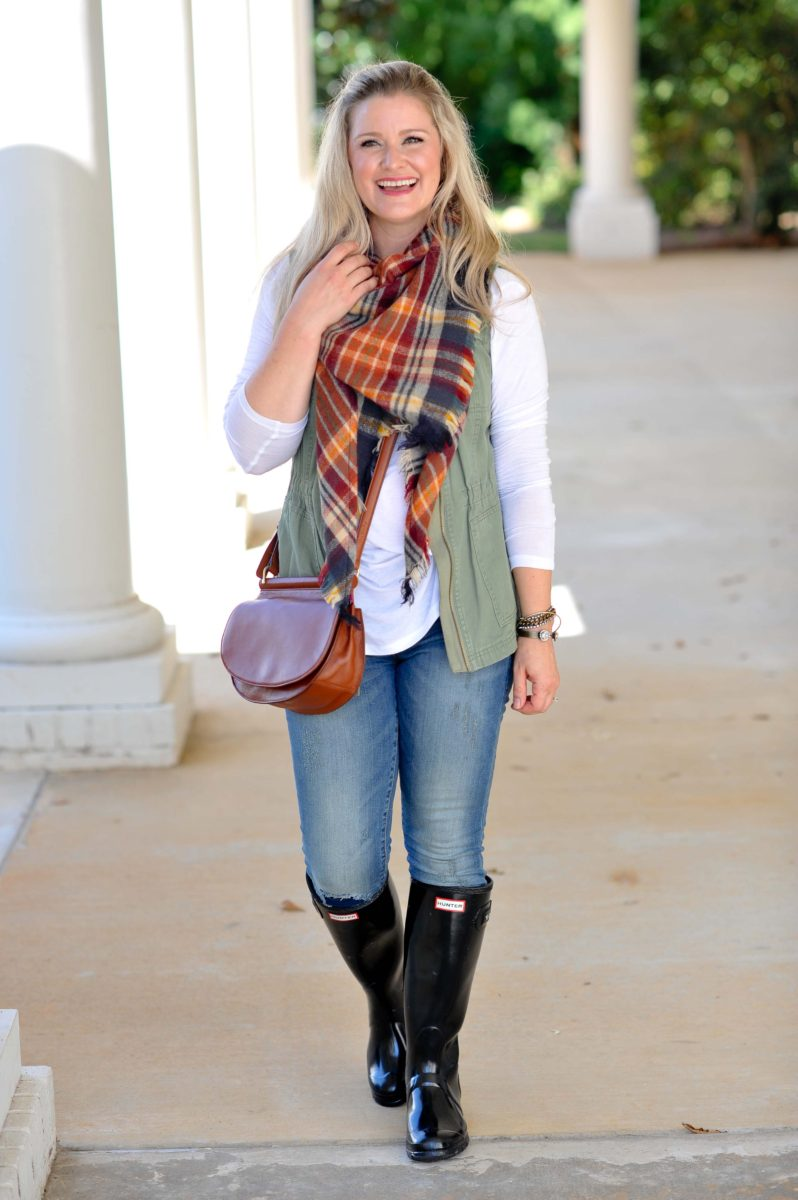 The Perfect Plaid Scarf To Wear This Fall