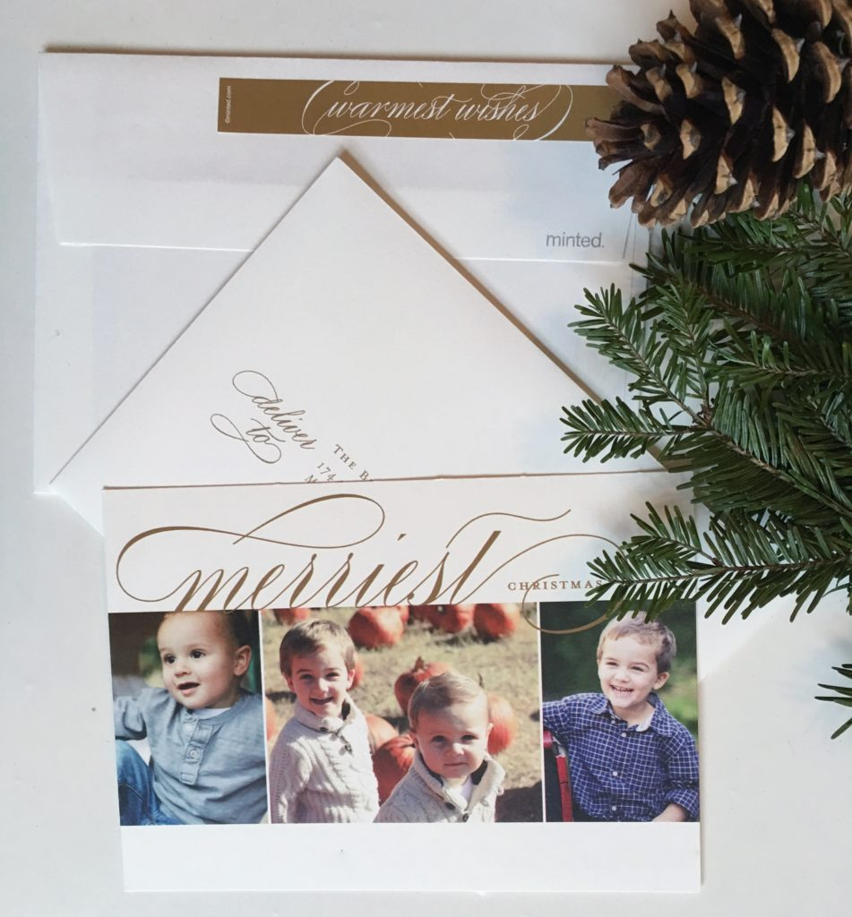 Holiday Greetings with Minted
