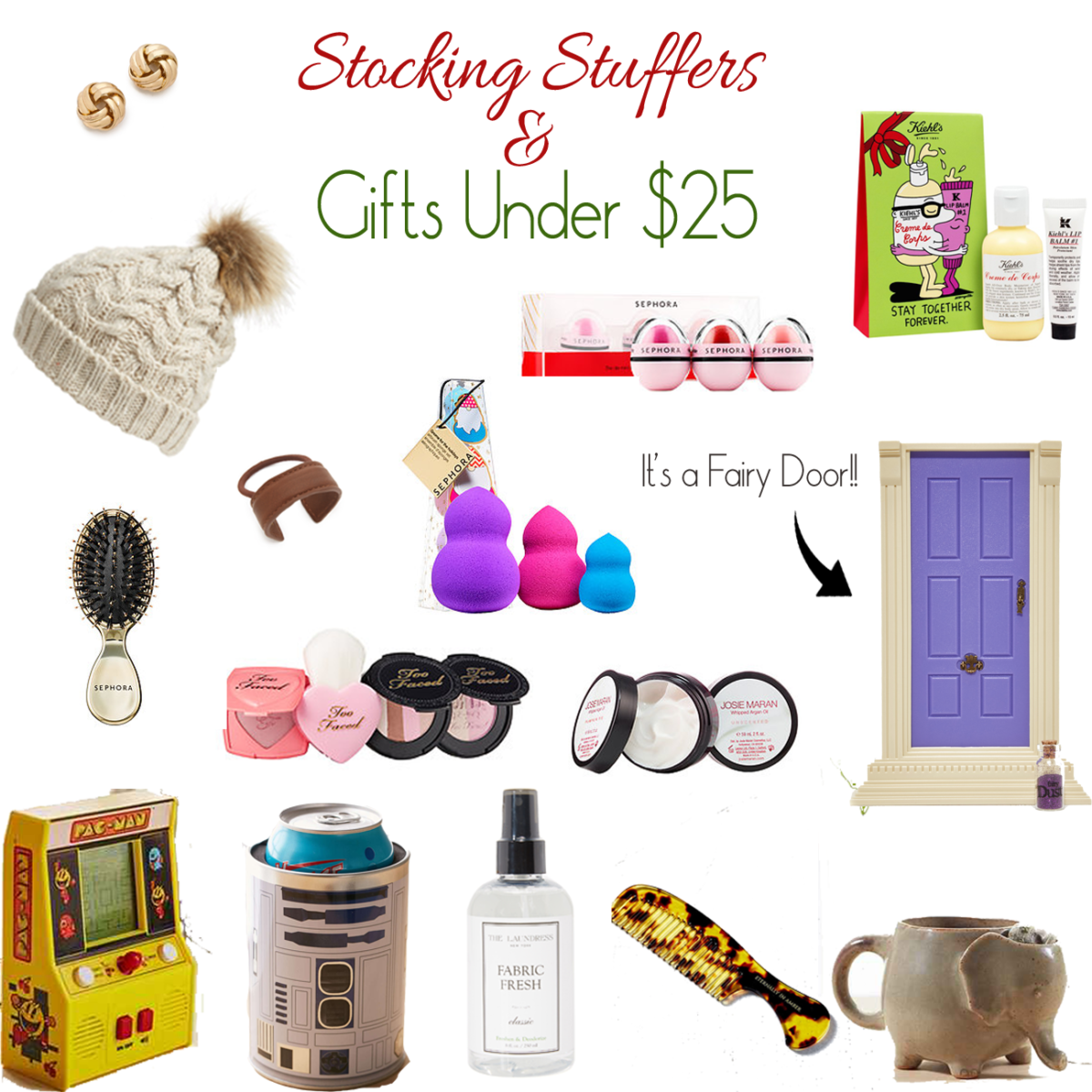 Stocking suffers and gifts for under $25 that would be perfect for anyone on your list