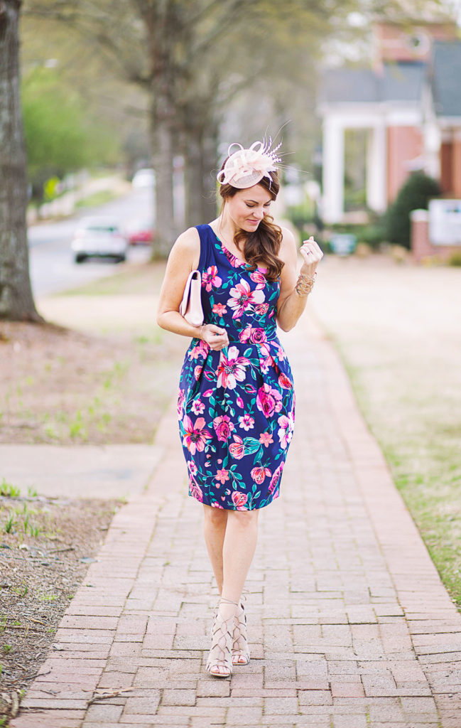 Kentucky Derby Dress via Peaches In A Pod blog.