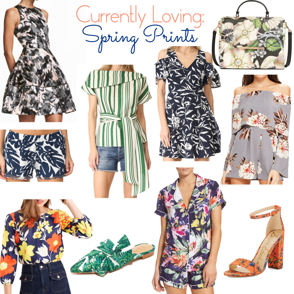 Currently Loving: Spring Prints