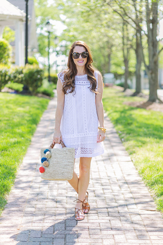The perfect dress for summer via Peaches In A Pod blog.