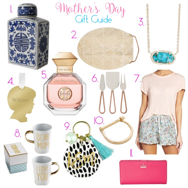 Mother's Day Gift Guide via Peaches In A Pod blog.