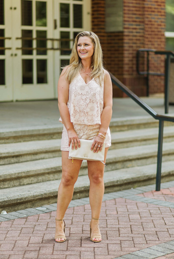 How to style a romper for summer. Cute petite romper that is perfect for summer.