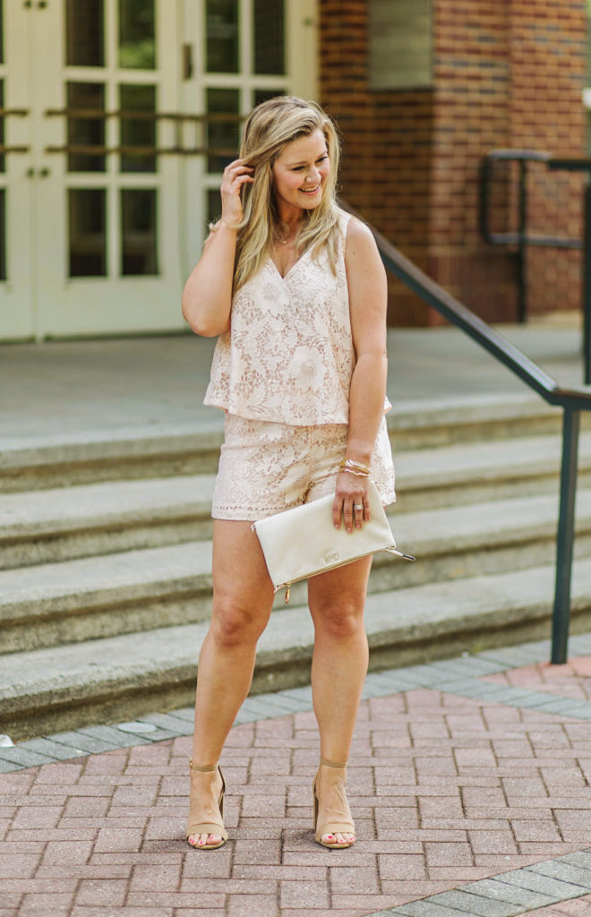 cute petite romper that is perfect casually or dressed up.