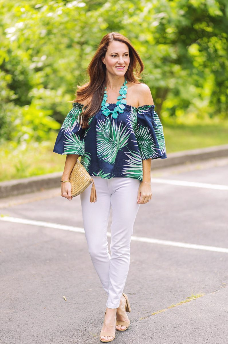 The Perfect Off the Shoulder Top