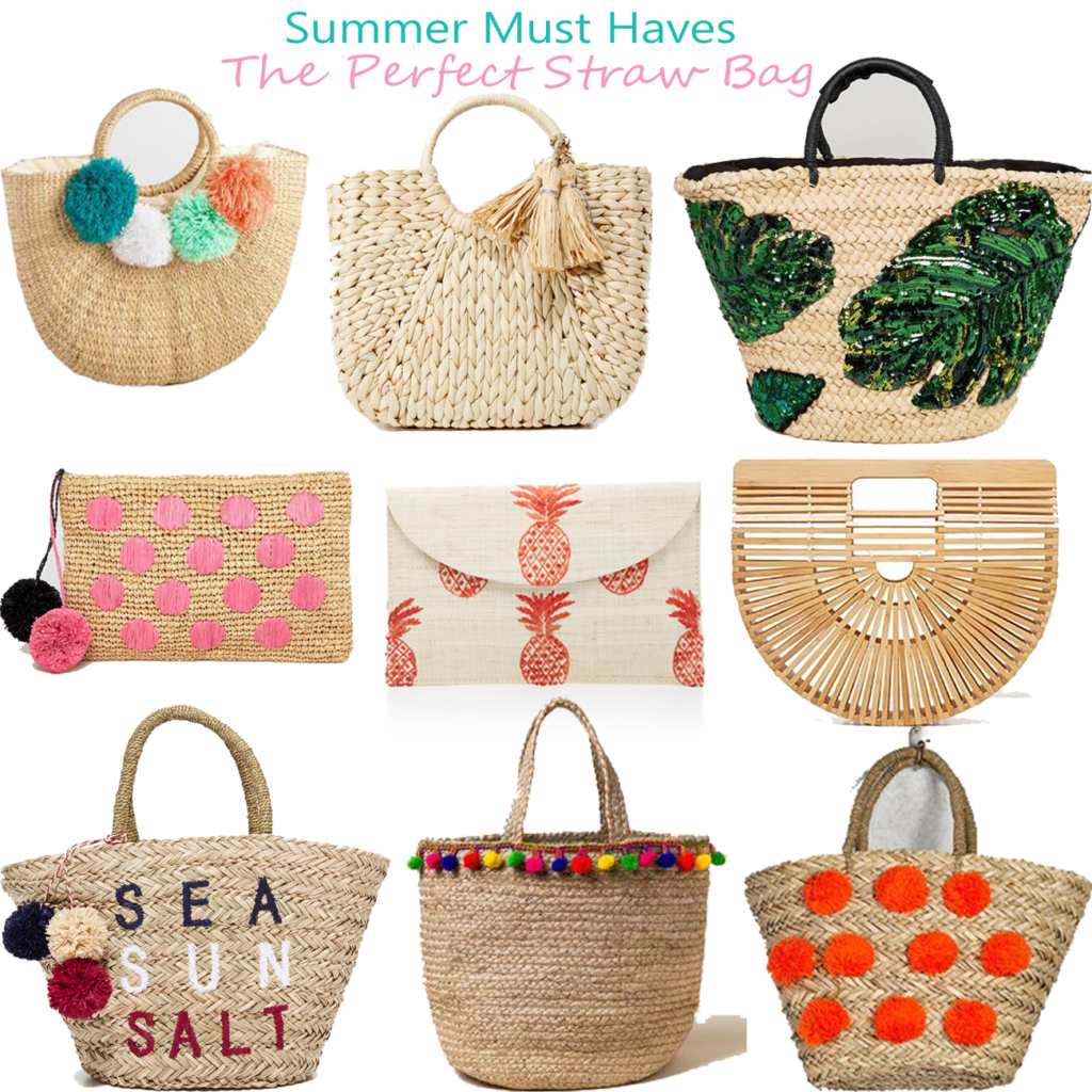 Where To Find The Perfect Straw Bag For Summer