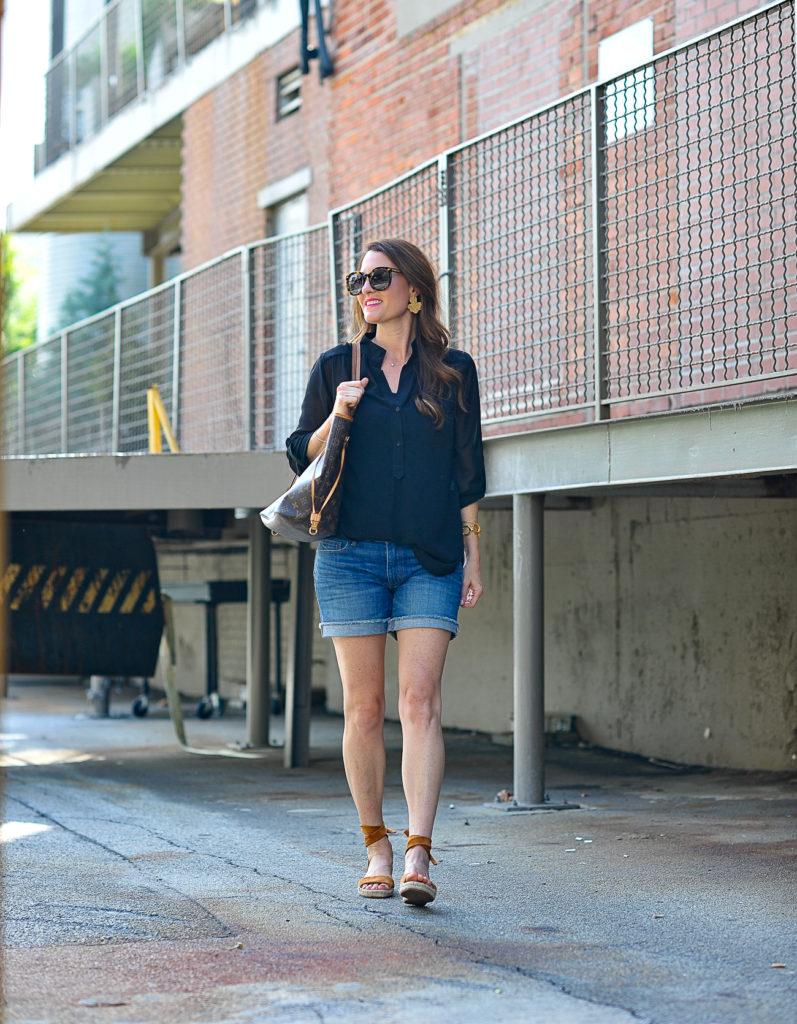 Summer fashion via Peaches In A Pod blog.