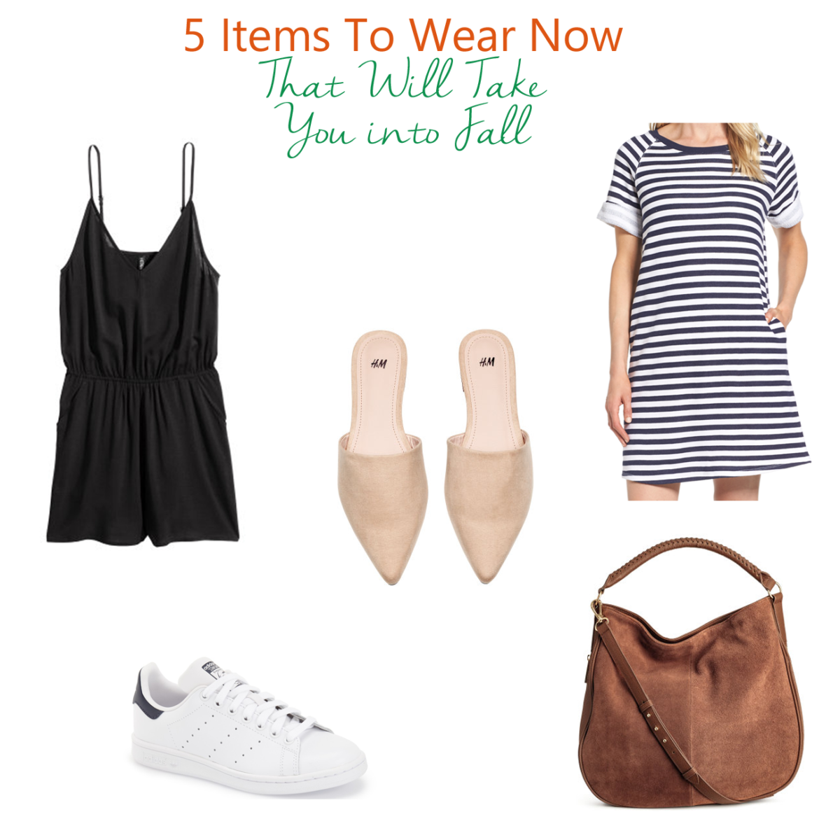 5 Items To Take You Into Fall