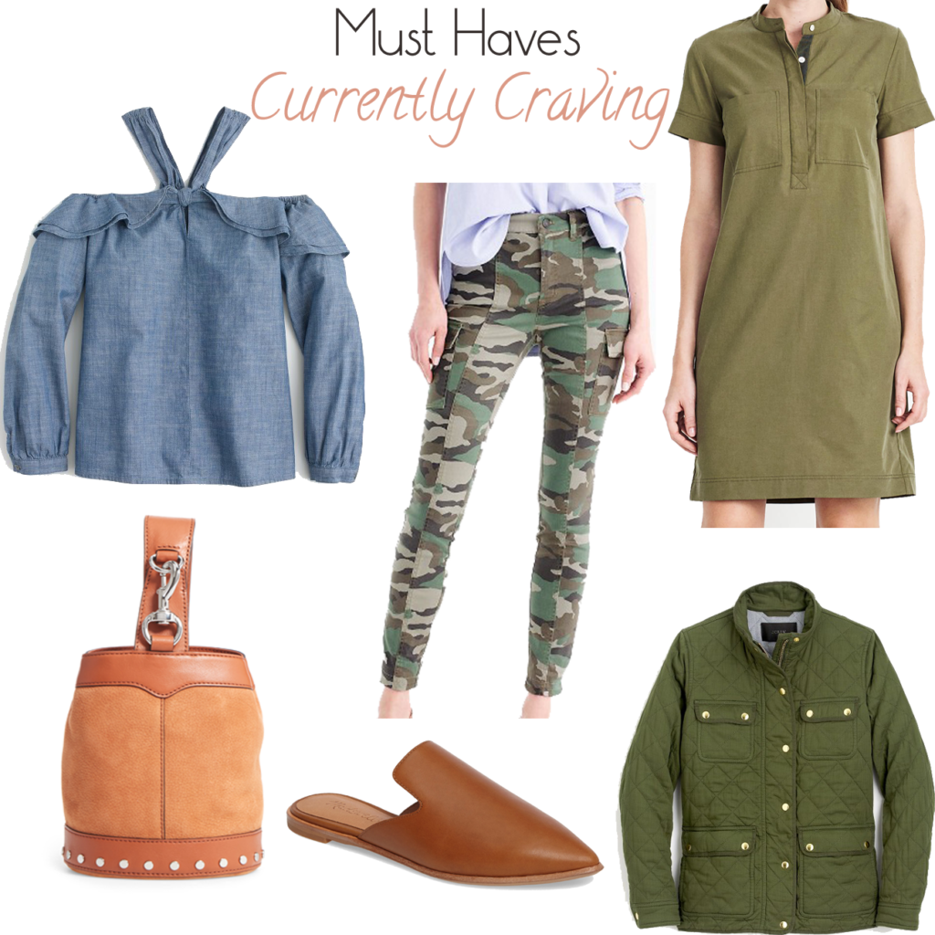 Must have pieces like camo pants that are perfect for fall