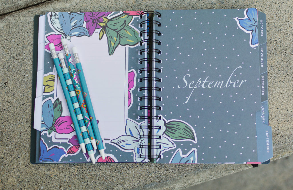 Vera Bradley 13 Month Agenda via Peaches In A Pod blog.