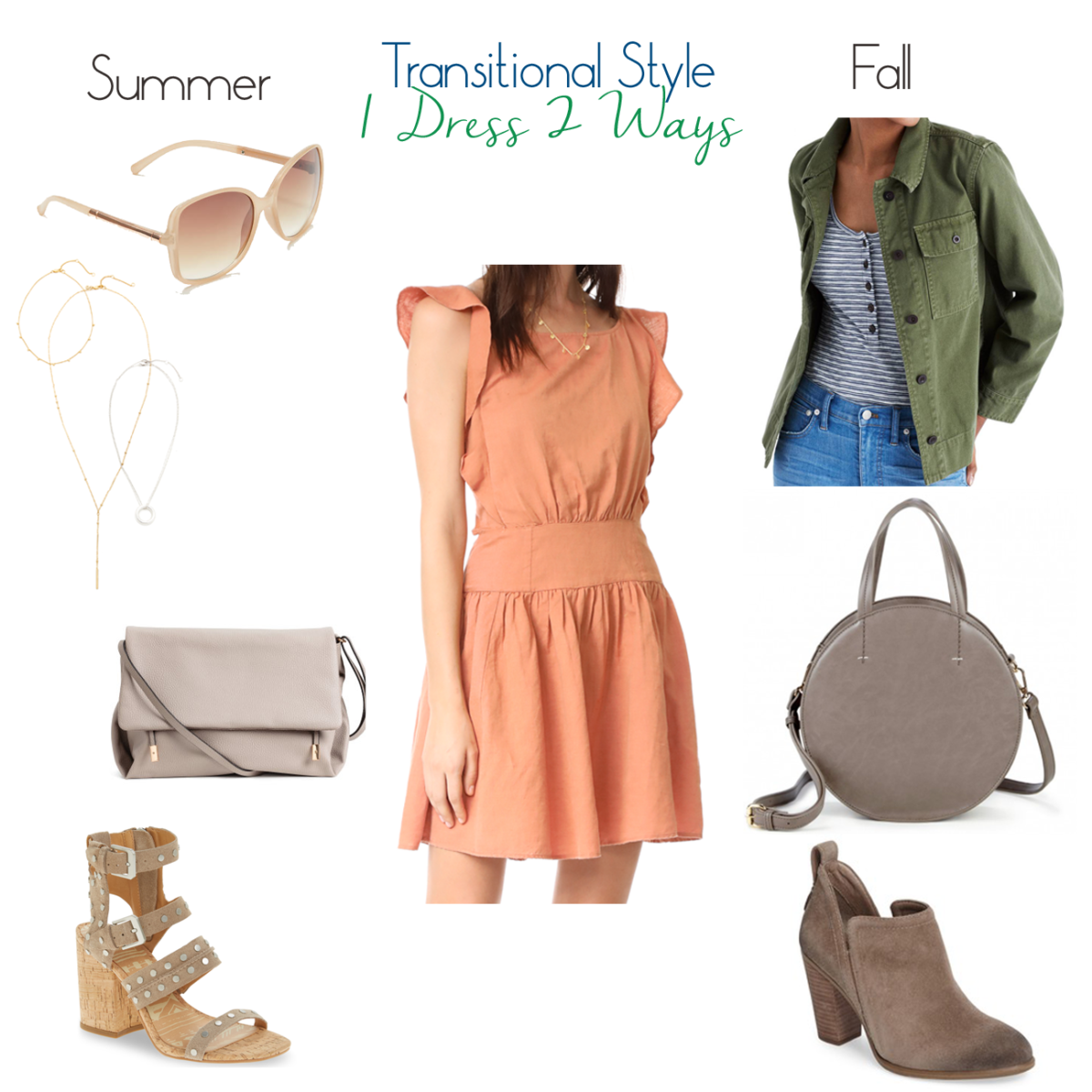 Fall Transition: How to Style a Dress Now and into Fall