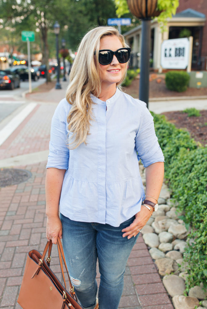 The Perfect Blue Blouse