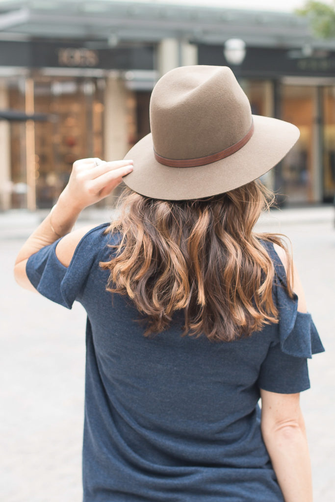 Brown wool Fedora Via Peaches In A Pod Pod blog.