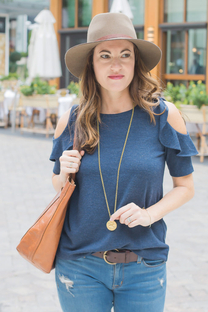 RAg and Bone Fedora in Pecan via Peaches In A Pod blog.