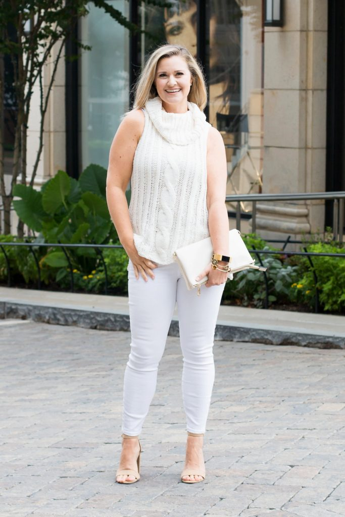 Tips on how to wear white jeans after Labor Day